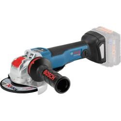 Polizor unghiular compatibil cu acumulator Bosch GWX 18V-10 PSC cu sistem X-LOCK