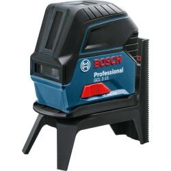 Nivela laser cu linii in cruce si 2 puncte Bosch GCL 2-15