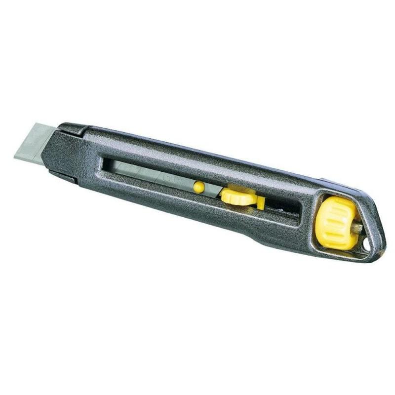 Cutter metalic INTERLOCK Stanley cu lama lunga 18mm