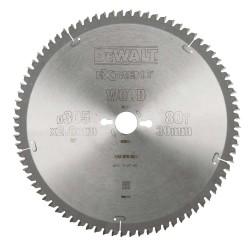 Panza de ferastrau circular Dewalt EXTREME 305x30,Z 80 DT4283-QZ