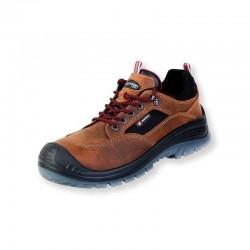 Pantofi de protectie cu bombeu compozit BROWN LAND