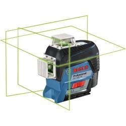 Nivela laser cu linii Bosch cu acumulator 12 V Li-Ion in L-BOXX GLL 3-80 CG