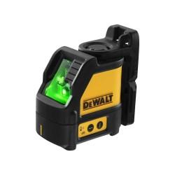 Nivela laser in cruce, raza verde, DeWalt DW088CG