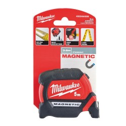 Ruleta cu magnet 5 m Milwaukee