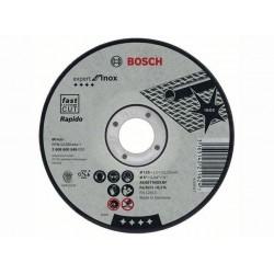 Disc abraziv 125x1.6 mm, Bosch X-Lock, debitare metal