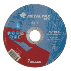 Disc abraziv 125x2.5 mm debitare metal Metalynx Pro