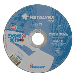 Disc abraziv 125x1.6 mm debitare inox Metalynx Pro
