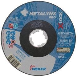 Disc abraziv 125x2.5 mm debitare metal+inox X-LOCK...