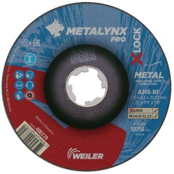 Disc abraziv 125x6.5 mm polizare metal X-LOCK Metalynx Pro
