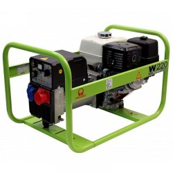 Generator de curent trifazat si sudura Pramac W220TDC