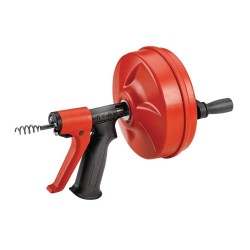 Dispozitiv pentru desfundat tevi cu avans automat Ridgid Power Spin