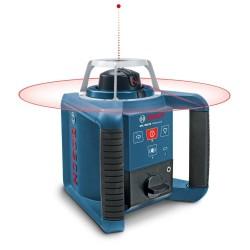 Nivela laser rotativa Bosch GRL 300 HV + LR 1 + GR 240 + BT 300 HD
