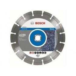 Disc diamantat 230x22.23 mm Bosch pentru piatra