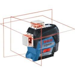 Nivela laser cu linii Bosch GLL 3-80 C + stativ BT 150