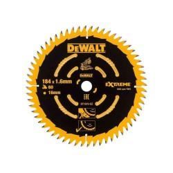 Panza de ferastrau circular Dewalt EXTREME 184x16,Z 60 DT1670
