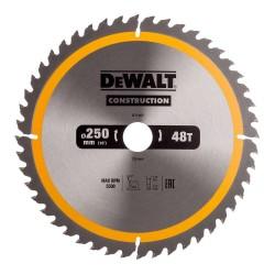 Panza de ferastrau circular Dewalt CONSTRUCTION 250x30,Z...