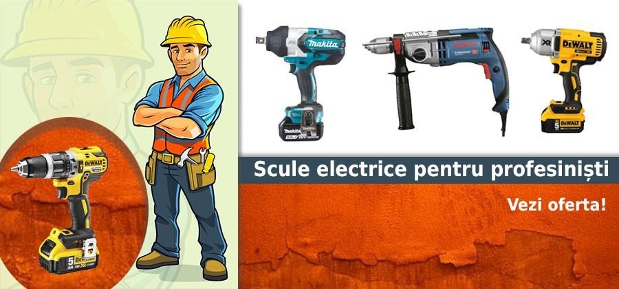 Oferta scule electrice profesionale